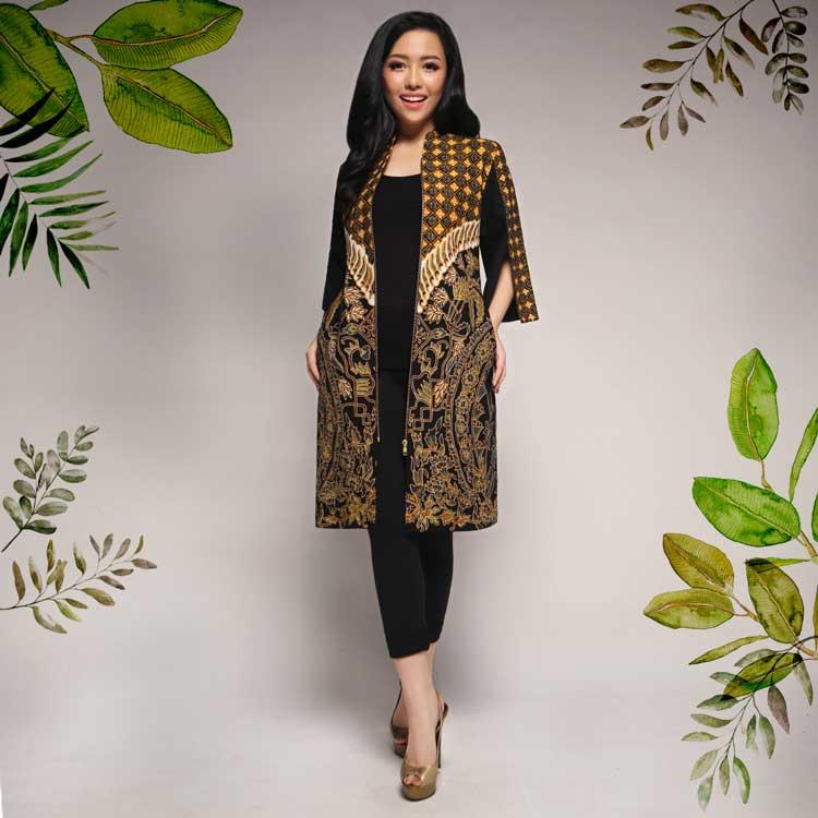 Fashion Pakaian Batik Perempuan Kekinian